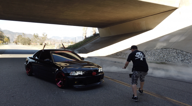 Reindeer Games with Isaac and his. BMW M3 on SLC2 Klutchwheels Happy Holidays