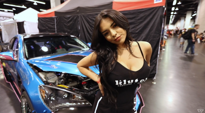 gigi at Spocom Anaheim with Klutchwheels